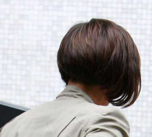 Astounding Back View Of Short Bob Hairstyles Bob Hairstyles 2015 Short Hairstyles For Women Draintrainus