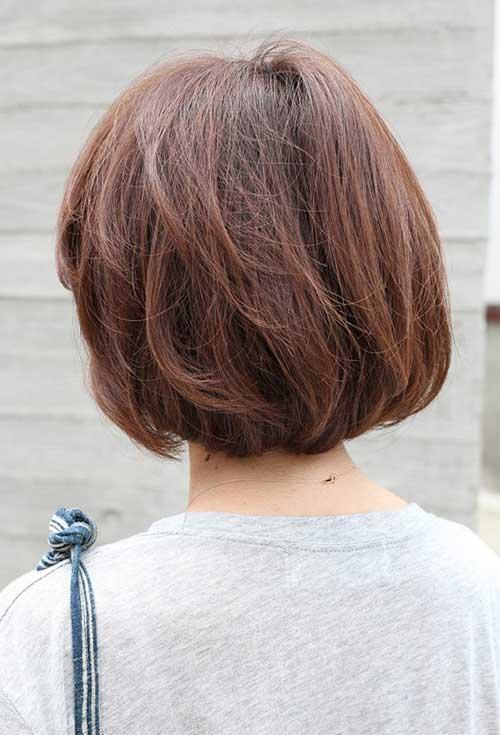 Amazing Back View Of Short Bob Haircuts Bob Hairstyles 2015 Short Hairstyles For Women Draintrainus
