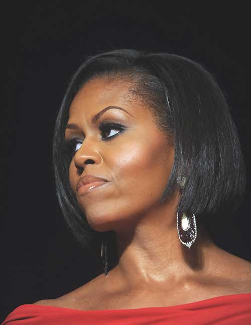 Black Women with Straight Bob Hairstyles