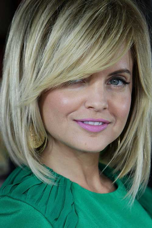 Blonde Long Bob Hairstyles for Thick Hair