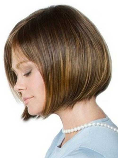 Brown Bob for Fine Hair Cuts 2014