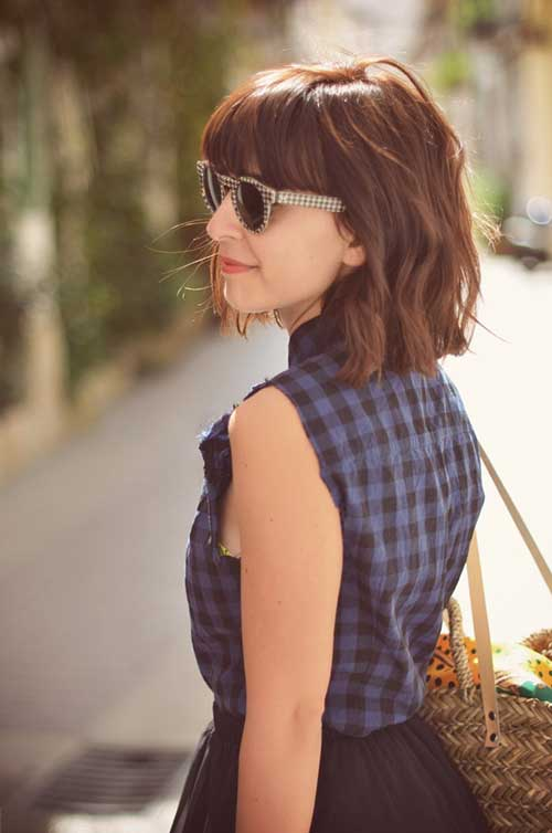 Brown Bobs Hairstyles
