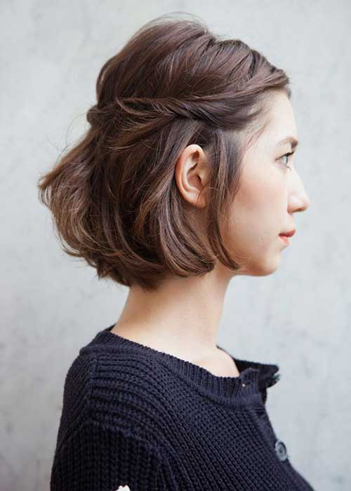 Cool Bob Hairstyles Side View Hairstyle Pictures Short Hairstyles Gunalazisus