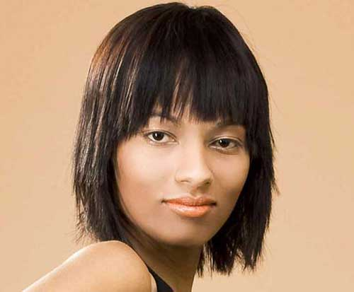 Magnificent Choppy Bob Hairstyles For Thick Hair Bob Hairstyles 2015 Short Short Hairstyles For Black Women Fulllsitofus