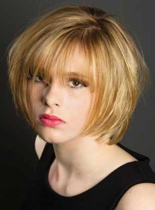 Choppy Bob for Fine Hairstyles 2014