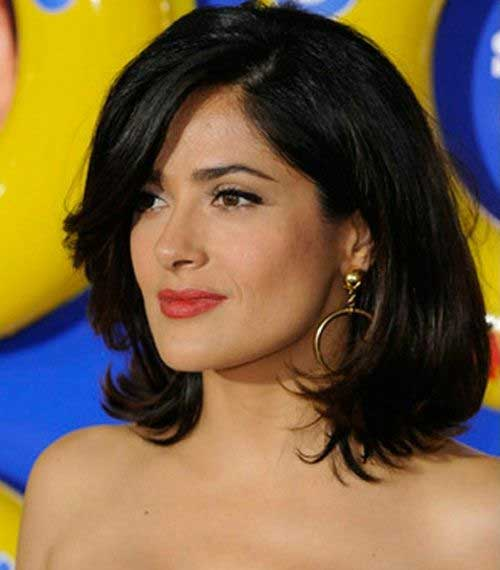 Classy Long Bob Hairstyles for Thick Hair