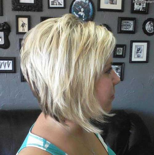 ... Women Back View Photos Bangs Concave Bob Pictures to pin on Pinterest