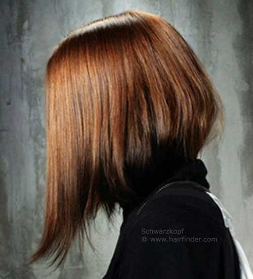 Concave Long Bob Hairstyle
