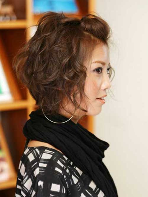 Curly Asian Bob Hairstyles 2014-2015