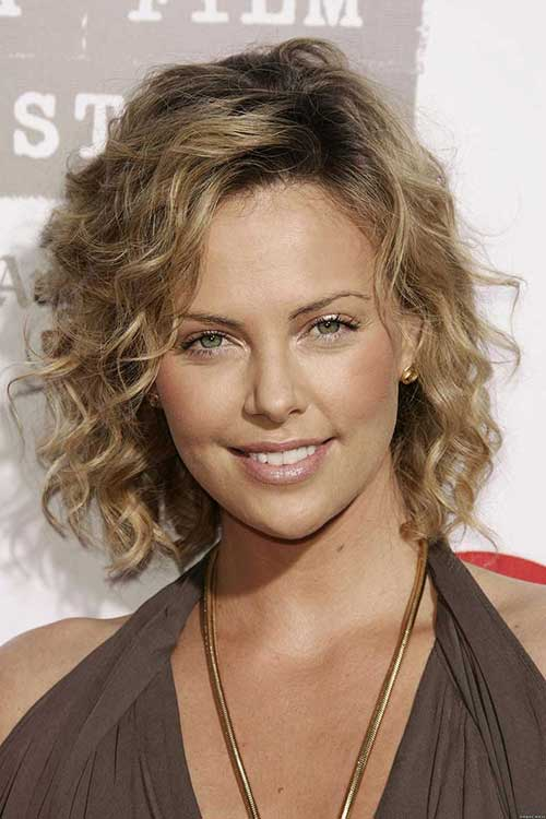 Curly Bob for Fine Hairstyles 2014