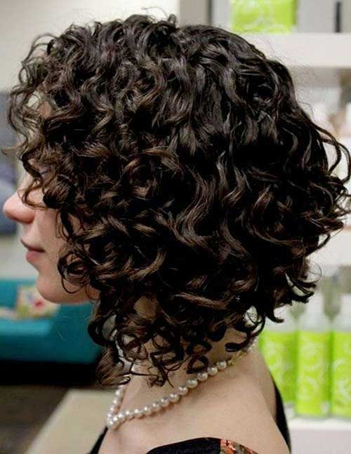 Curly Thick Bobs 2015
