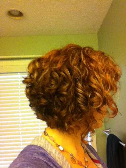 Curly Nice Bob Cut Hairstyles