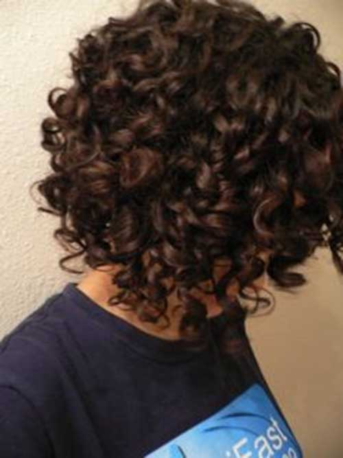 Curly Short Brown Bob HairstylesCurly Short Brown Bob Hairstyles
