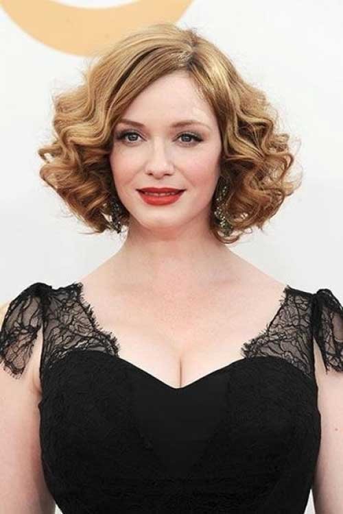 Curly Vintage Bob Hairstyles 2014-2015
