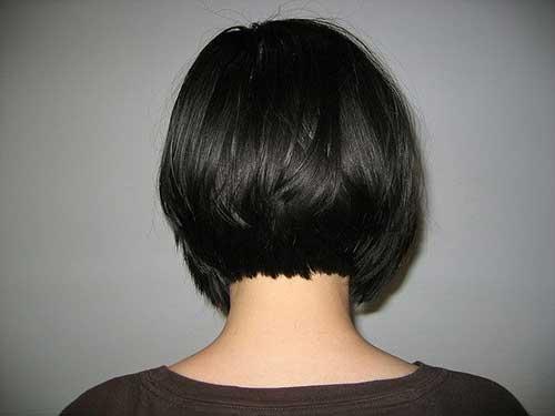 Wondrous Back View Of Short Bob Haircuts Bob Hairstyles 2015 Short Hairstyles For Women Draintrainus