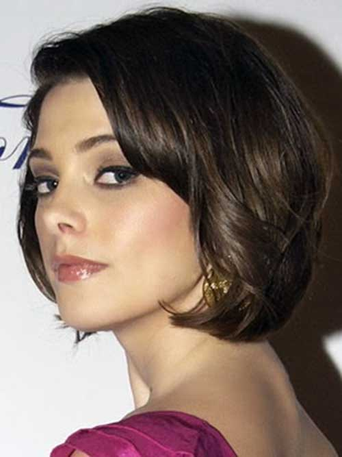 Dark Wavy Bob Hairstyles Pictures