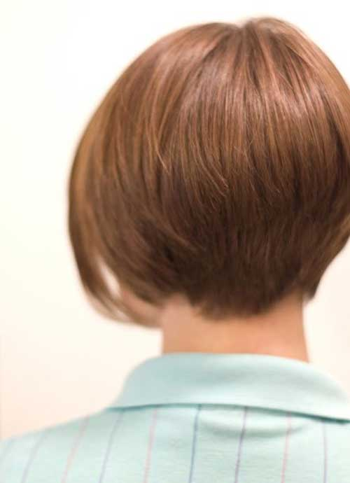 Fine Back View Of Short Bob Haircuts Bob Hairstyles 2015 Short Hairstyle Inspiration Daily Dogsangcom