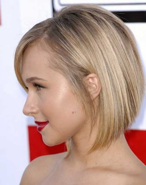 Hayden Panettiere Bob Haircuts Side View Look