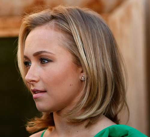 Hayden Panettiere Medium Bob Haircuts