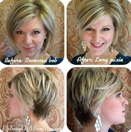 Inverted Short Bob Hairstyle Ideas