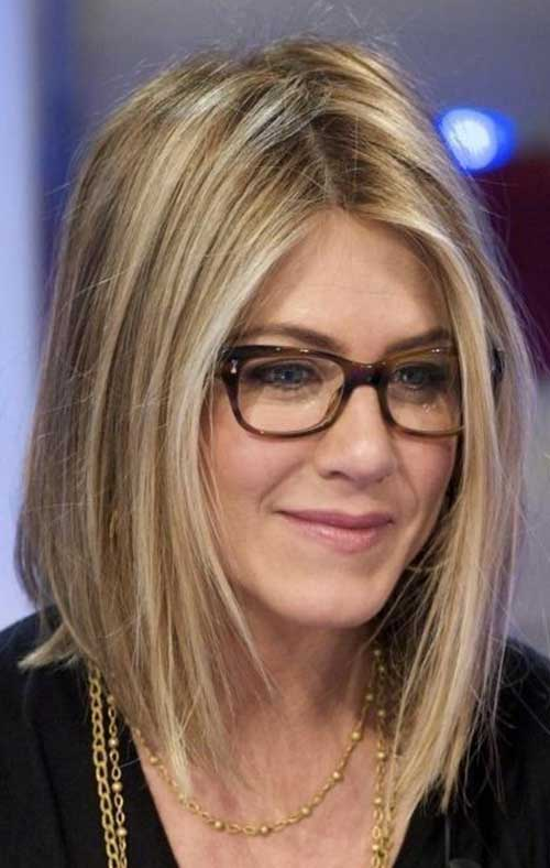 Nice Jennifer Anniston Long Bob Pictures