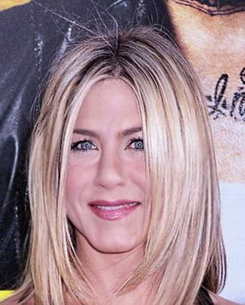 Jennifer Anniston Long Bob Straight Style