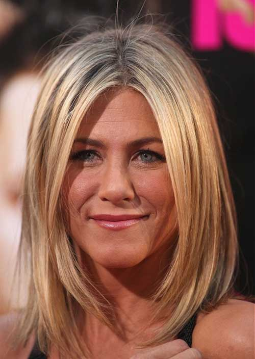 Jennifer Anniston Straight Long Bob Style