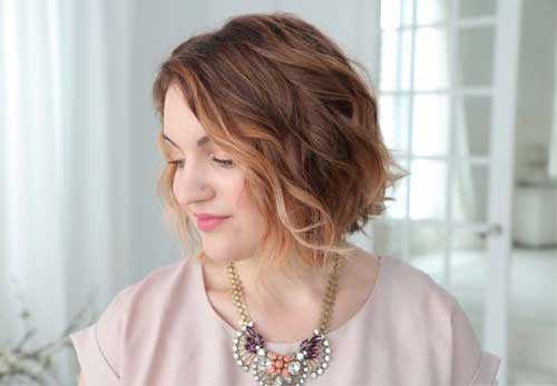 Latest Wavy Bob Cut Ideas