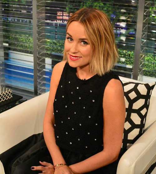 Lauren Conrad Choppy Bob Cut Ideas