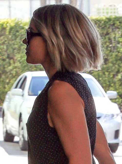 Lauren Conrad Medium Bob Haircuts