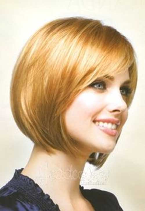 Layered Fringe Bob with Side Bangs Idea