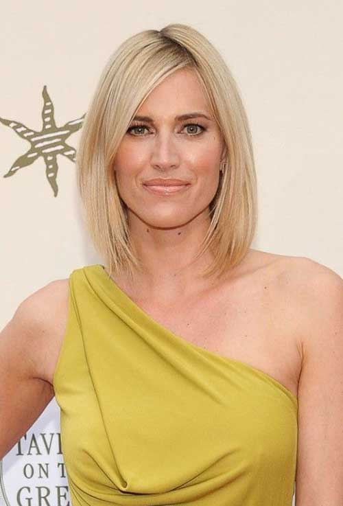 Medium Bob for Fine Hairstyles 2014