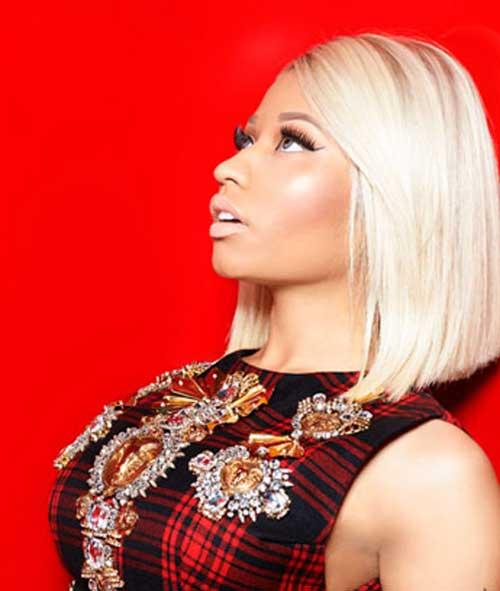 Nice Nicki Minaj Blonde Bob