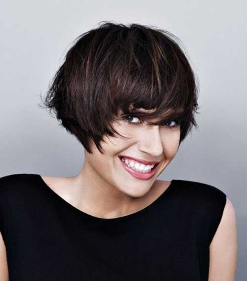 20 Best Bob Hairstyles With Fringe 2017 Short