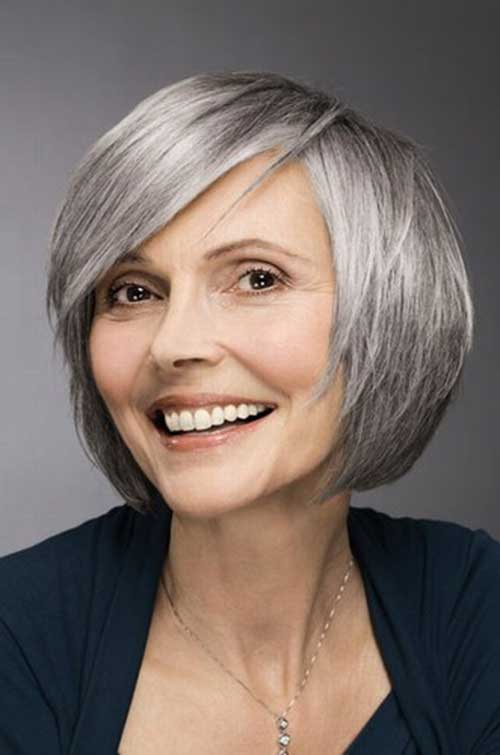 Best Short Bob Haircuts For Older Ladies