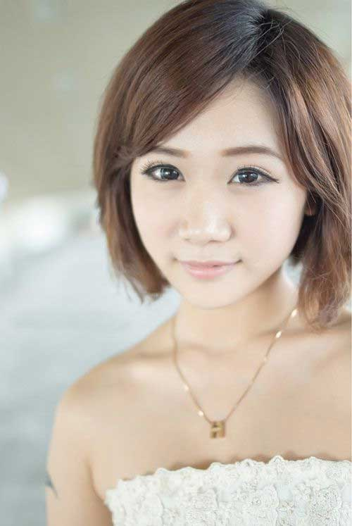 Short Chinese Straight Bob Cut Pictures