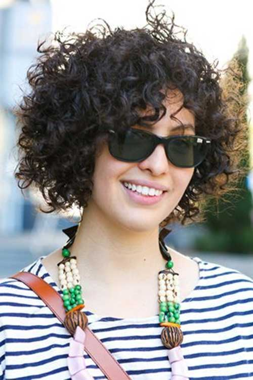 Remarkable Short Curly Bobs 2014 2015 Bob Hairstyles 2015 Short Hairstyle Inspiration Daily Dogsangcom