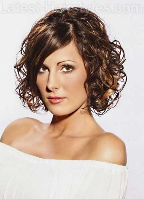 Short Dark Brown Bob Hairstyles 2014-2015