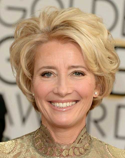 Good Short Elegant Bob Haircuts for Older Ladies