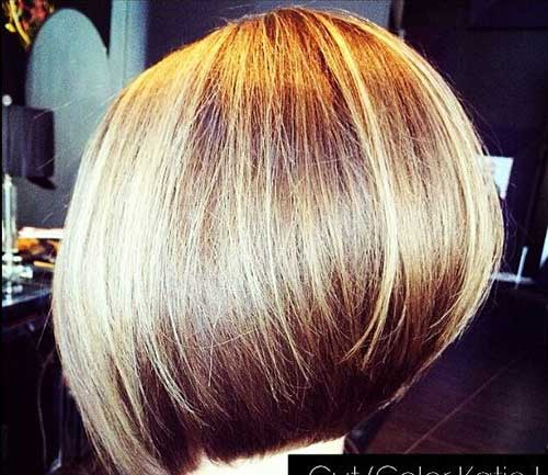 Short Inverted Thick Bob Haircuts