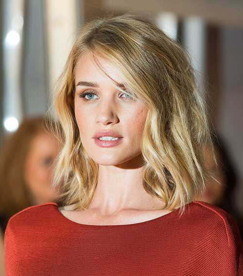 Shoulder Blonde Bob Haircut