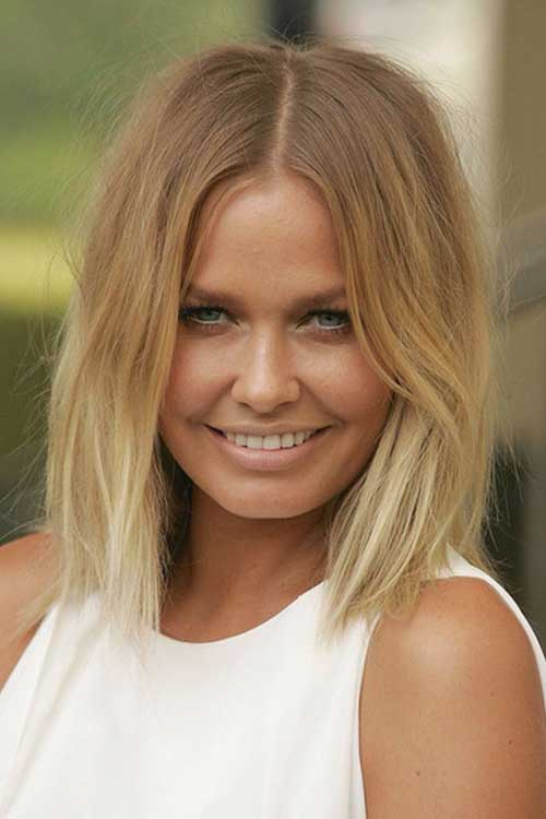 Shoulder Blonde Wavy Bob Hairstyles