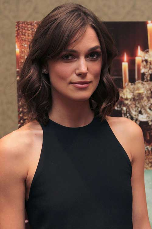 Shoulder Length Brown Bob Haircuts