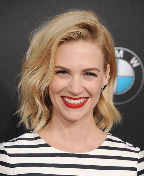 New Shoulder Length Wavy Bob Hairstyles