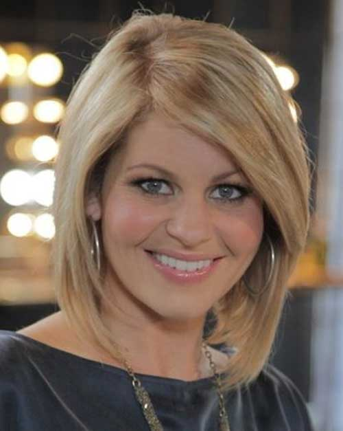 Side Swept Angled Bob Cut Pictures