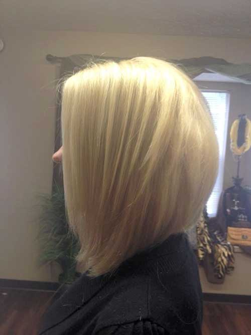 Straight Angled Bob Hairstyles Pictures