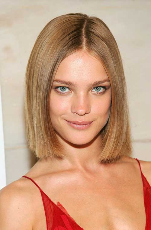 Straight Blunt Bob Cut Ideas Photo