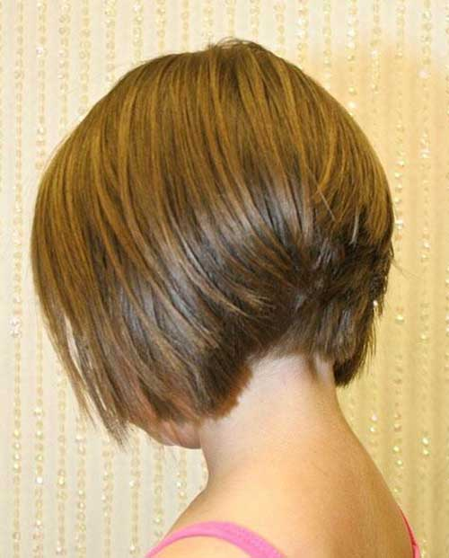 Straight Inverted Short Bob Hairstyles