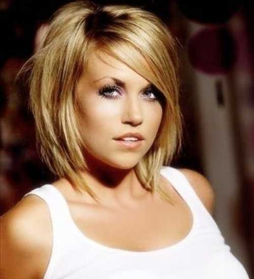 Straight Layered Bob Hairstyles 2014-2015