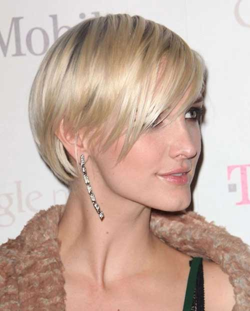 Straight Pixie Bob Hairstyles Cut